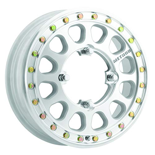 Method Race Wheels 401-R UTV Beadlock Raw Machined 15x5' 4x156', 46mm offset 4.9' Backspace, MR40155046346B2