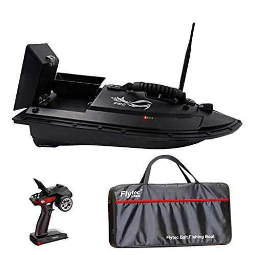 Iwähle 2020 Fischfinder für Flytec, Fishing Bait Boat, 2,4 G Angeln RC Boot Köderboot Fischköder 1.5kg, 500m Ferngesteuertes Boot Einhandbedienung, mit Ersatzteil Set und Tasche