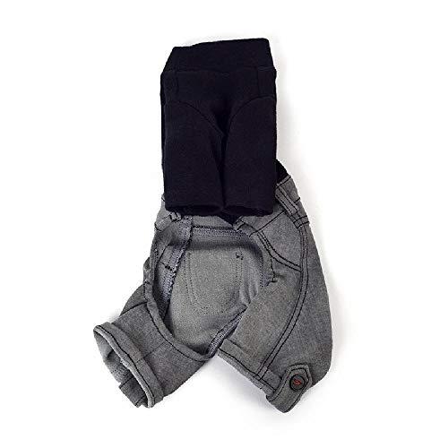 Nobrand - Pantalones de algodón de mezclilla de una sola pi