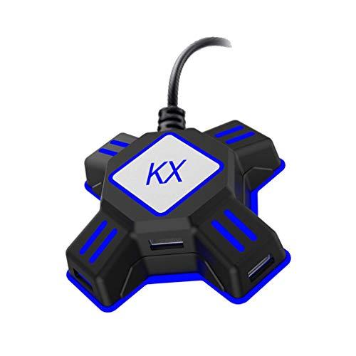 Pegcduu Ersatz für Xbox One PS4 Playstation 4 PS3-Konsole Maus-Tastatur-Konverter-Adapter-Spiel Zubehör
