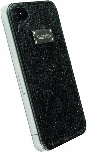 Krusell Coco - Carcasa para Parte Trasera de iPhone 4 y 4S, Color Negro