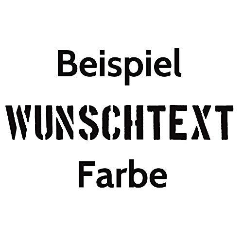 Aufkleber Autoaufkleber Name Wunschname Sticker Wunschtext - individuell ! (070 schwarz)