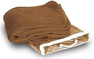 Camel Brown Coral Fleece Blanket Plush-king Size