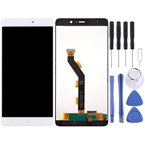 YGMOTO ADT YIYI for Xiaomi Mi 5s Plus LCD Screen e Digitizer Assemblea Completa (Nero) (Color : White)