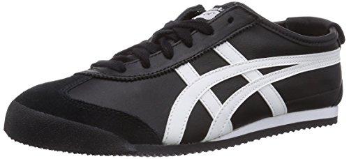 Onitsuka Tiger HL202 Mexico 66 Unisex Sneaker, Black/White, 37 EU