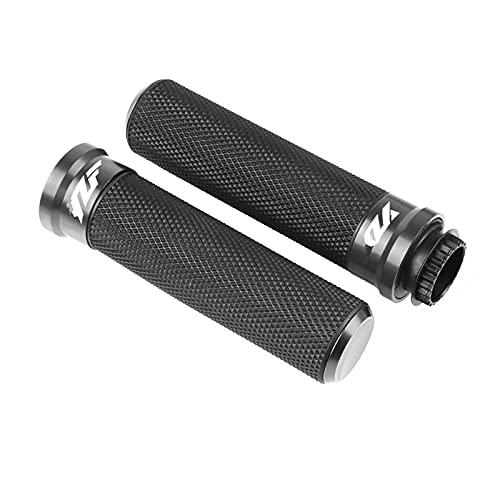 Motorbike Handlebar Grips For YAM-AH-A YZF-R1 YZFR6 YZF R6 R3 R125 R15 V3 2018 2019 2020 Motorcycle Accessories Aluminum Alloy Handlebar Moto Grip Ends Motorcycle Handle end (Color : 5)