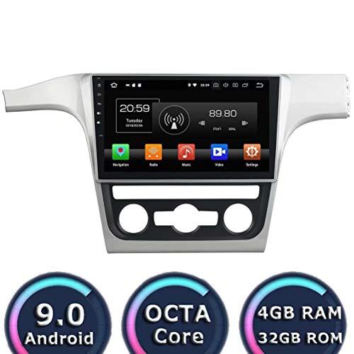 ROADYAKO 10.1Inch Head Unit pour VW Passat 2012 2013 2014 Android 8.0 Autoradio Stéréo avec Navigation GPS Lien 3G WiFi Mirror RDS FM AM Bluetooth AUX Multimédia Audio Vidéo
