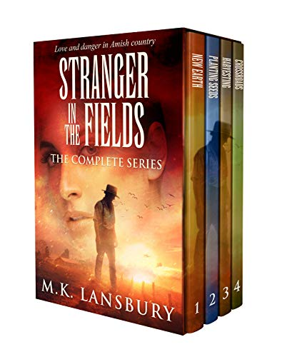 Stranger in the Fields (The Complete Series): Amish Romance Box Set by [M.K. Lansbury]