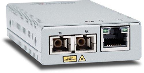 Allied Telesis AT-MMC2000/SC-60 convertidor de Medio 1000 Mbit/s 850 NM Multimodo Plata...