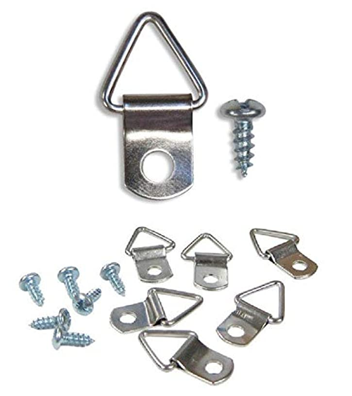 Extra Heavy duty medium triangle picture hanger (20 Pack)