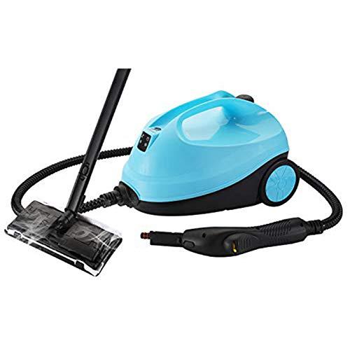 SSCYHT Steam Cleaner 2000w Steam Mop Cleaner mit 12 Zubehörteilen und Zubehörbox Steam Pressure 4 Bar für Fußböden Autos Heimgebrauch und Mehr,Blau