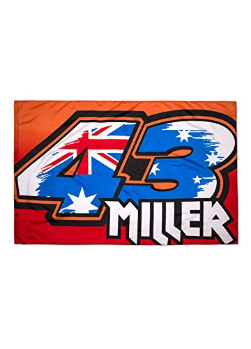 Vr46 Jack Miller, Unisex Adult, Multi, Unique Flag