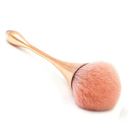 Large Powder Mineral Brush,Foundation Makeup BrushPowder Brush and Blush Brush for Daily Makeup Rose Gold …