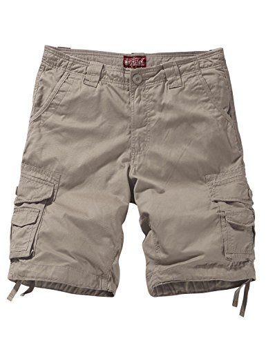 Match Men's Comfort Cargo Short (Label size 3XL/38 (US 36), 3056 Apricot)