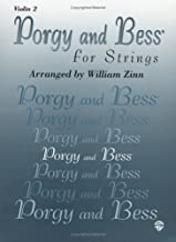 Porgy & Bess for Strings Violin 2 by George Arr Gershwin