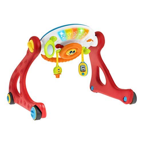 Chicco 00009335000000 Grow And Walk Gym 4 In 1 elektronische Fitnessstudio, mehrfarbig