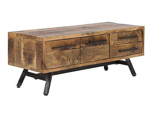 massivum Woodheven TV-Bank Mango, Holz, Natur, 120 cm