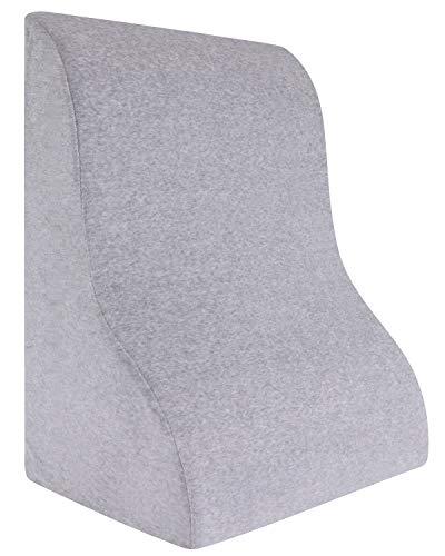 Meiz 三角クッション ベッド 背もたれ 体にフィット なだらか枕 腰 クッション 読書用 逆流性食道炎枕 父 母 プレゼント 年寄り 便利グッズ