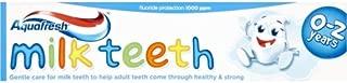 Aquafresh Milk Teeth Toothpaste 0-2 Years 50ml x 3