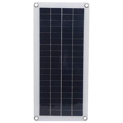 RiToEasysports Cargador de Panel Solar de Doble Salida de silicio policristalino de 10 W para Carga de Emergencia de teléfono móvil