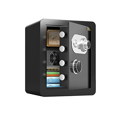 Security SafesHome Security Safes, 45cm Large Capacity Deposit Box Includes Keys Office Hotel Jewelry Cash Use Storage Cabinet, 4 Colors(Color:style1)