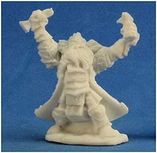 Reaper 77213 Thain Grimthorn Dwarf Cleric Miniature Dark Heaven Bones Miniatures