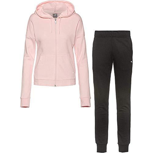 PUMA Damen Trainingsanzug rosa XS