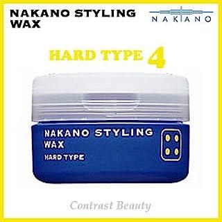 【X5個セット】 ナカノ スタイリング ワックス 4 ハードタイプ 90g ?ナカノスタイリングワックス2002? 【スタイリング STYLING NAKANO 中野製薬株式会社 NAKANO】