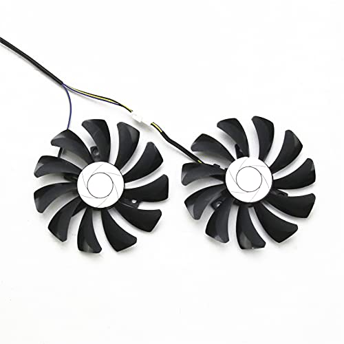 Bestparts New Graphics Card Video Card Cooling Fan for MSI GTX 1060 960 P106-100 P106 HA9010H12F-Z 85MM 4PIN