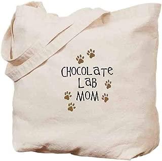 トートバッグ キャンバス - チョコレートラボママ - ヨーロッパとアメリカのスタイル - 雑貨バッグ 40cmx35cm