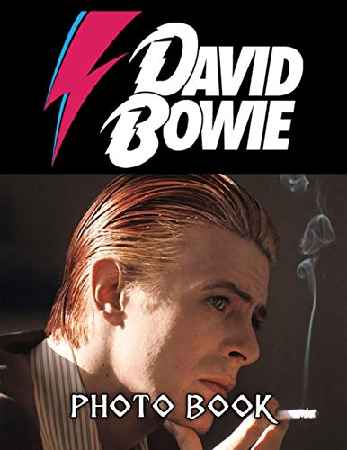 David Bowie Photo Book: Adults 20 Pages Of Photo & Image Book Books, (Photo Book Series)