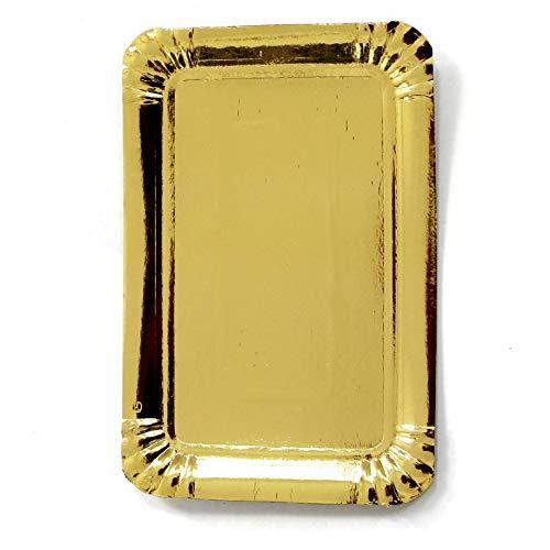 Extiff - Bandeja de cartón para repostería o aparador frío (10 x...