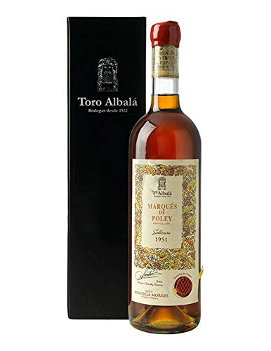 Marqués de Poley 1951 Amontillado Sherry Pedro Ximénez DO Montilla Moriles Vino - 750 ml