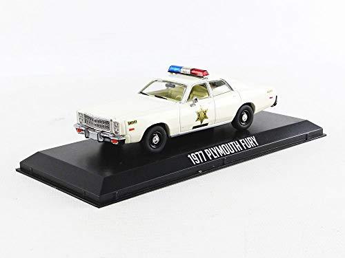 Greenlight 86558 1: 43 1977 Plymouth Fury - Hazzard County Sheriff