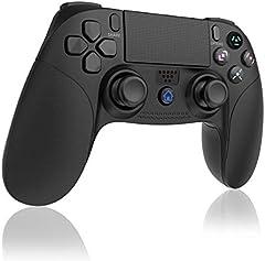 TUTUO para Cargador Mando PS4, Estación de Carga DualShock 4 con Pantalla de Visualización del Estado de Carga, para Controlador Inalámbrico de Playstation 4, 4 Slim and 4 Pro