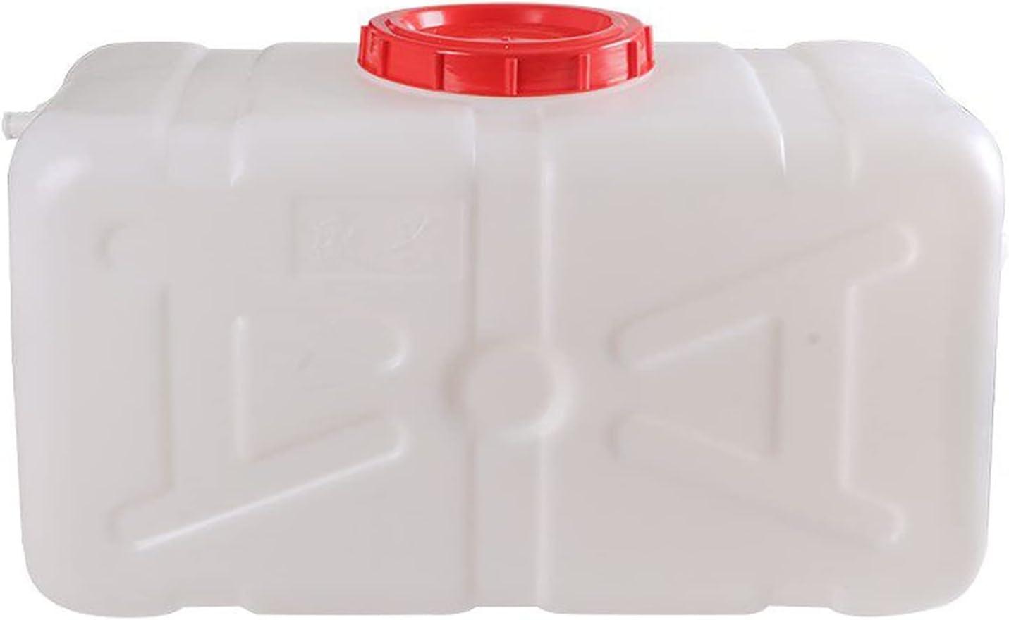HWhome Cuadrado Cubo De Plástico 30 litros Depósito De Agua Tanque De Agua del Coche Engrosado Bidón Plástico con Grifo Envase Agua Que Acampa Bidón Alimenticio Cubo De Purificación De Agua
