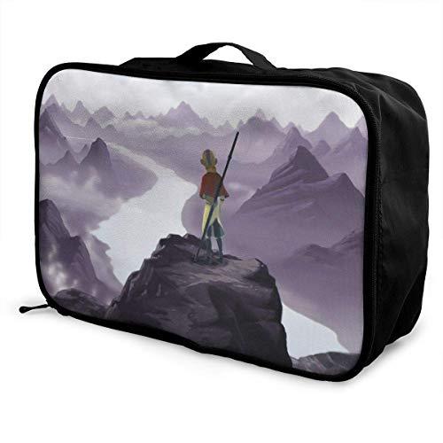 t Travel Lage Duffel Bag Lightweight Suitcase Portable Bags for Women Men Kids Waterproof Large Bapa Caity