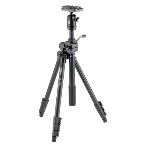 Velbon 三脚 VS-443Q 4段 レバーロック 脚径23mm 小型 自由雲台 V4-unit付 クイックシュー対応 アルミ脚 31...