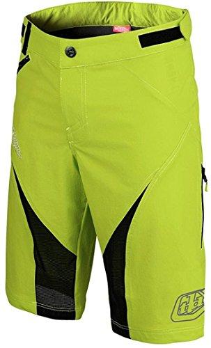 Troy Lee Designs Terrain Pantaloncini da BMX da uomo, colore giallo fluo/30