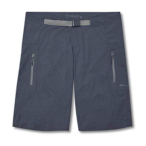 Flylow Goodson Shorts - Men's Ultra Durable Mountain Biking Shorts (Dusk, XL)