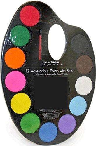Paleta de Pintor con Grandes Tabletas de Acuarela - Ref. ST2023A