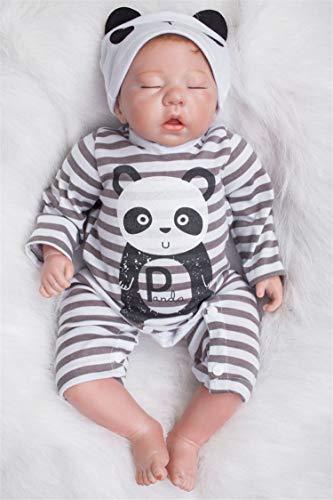 Wamdoll 20 inch Rare Alive Collectible Sleepy Panda Reborn Baby Girl Boy Dolls Look Real