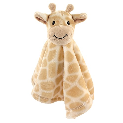 Hudson Baby Unisex Baby Security Blanket, Giraffe, One Size