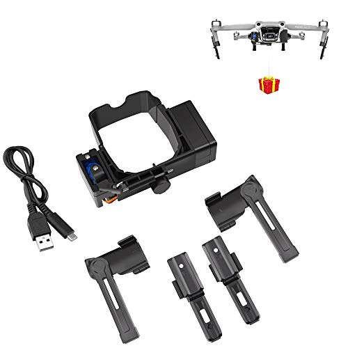 BTG Release and Drop Device for Drone Fishing, Bait Release, Payload Delivery, Search & Rescue, Wedding Proposal Compatible with DJI Mavic Air 2S / Mavic Air 2 Drone