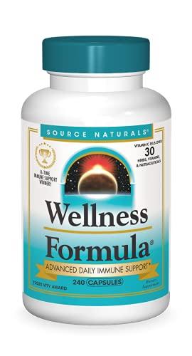 Source Naturals Wellness Formula Bio-Aligned Vitamins & Herbal Defense...