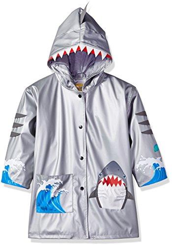 Kidorable Originele kinderregenjas, alle weersomstandigheden, regenjas, haai, voor jongens