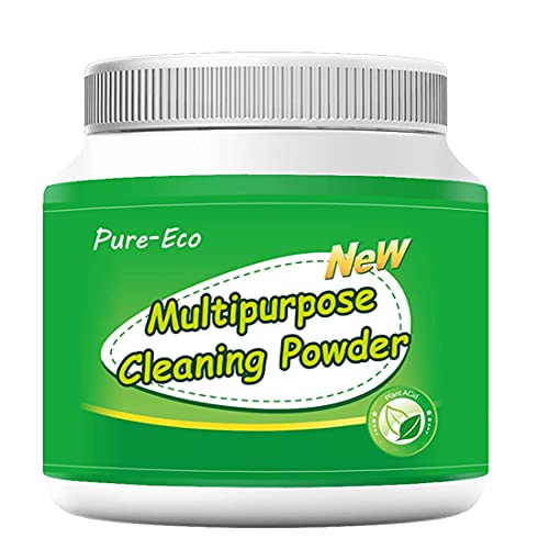 Maclees Bowl Sparkle Toilet Cleaner Powder, Bathroom Cleaner, Toilet Tank Cleaner, for Stubborn Stain on Toilet Bowl, Sink, Tile in Kitchen and Bathroom, All-Purpose Cleaning Supplies (0.8LB)