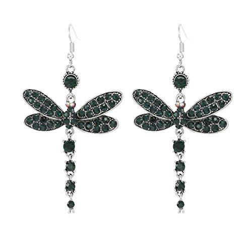 Toporchid Libelle Anhänger Drop Dangle Ohrringe Für Frauen