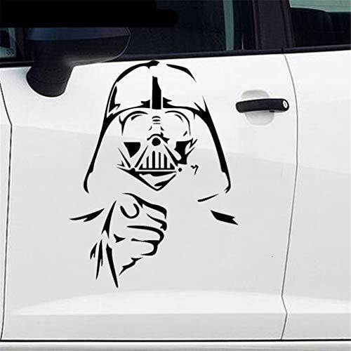 Car Styling Big Sticker Film Darth Vader Auto Aufkleber für Auto Laptop Fenster Aufkleber