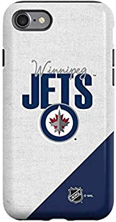 Skinit Pro Phone Case Compatible with iPhone SE - Officially Licensed NHL Winnipeg Jets Script Design